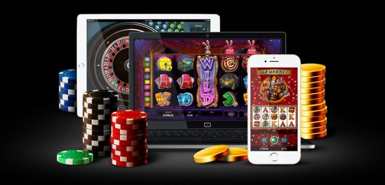 Juegos de casino, pantallas, móvil, dinero